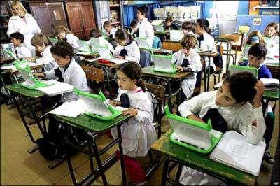 En Uruguay, una XO por niño