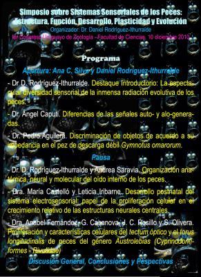 Simposio: Sistemas Sensoriales de los Peces